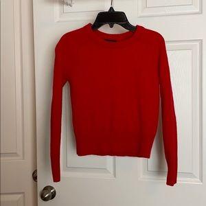 Red JCrew Sweater